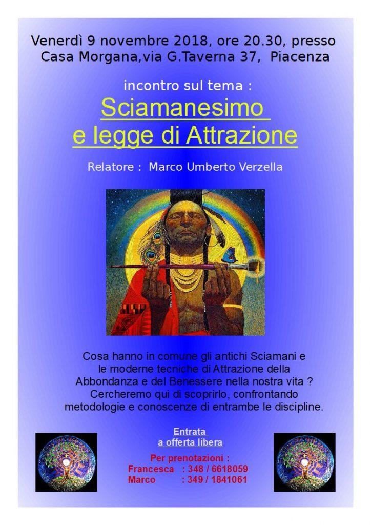 Sciamanesimo e Legge dell'attrazione